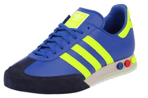 adidas kegler super blau neongelb